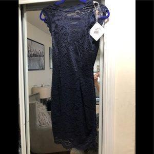 BNWT Angel Biba lace lines dress